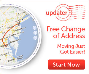 The Updater – File your USPS Change of Address Form