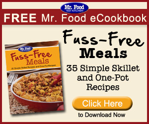 Don't Miss Your FREE Copy of 25 Fuss FREE Meals eCookbook!