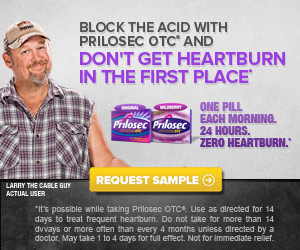 Don't miss out on Prilosec OTC FREE