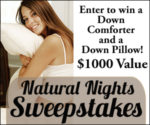 Whole Mom ~ Natural Nights Sweepstakes