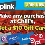 New Offer From PLINK & Chili's
