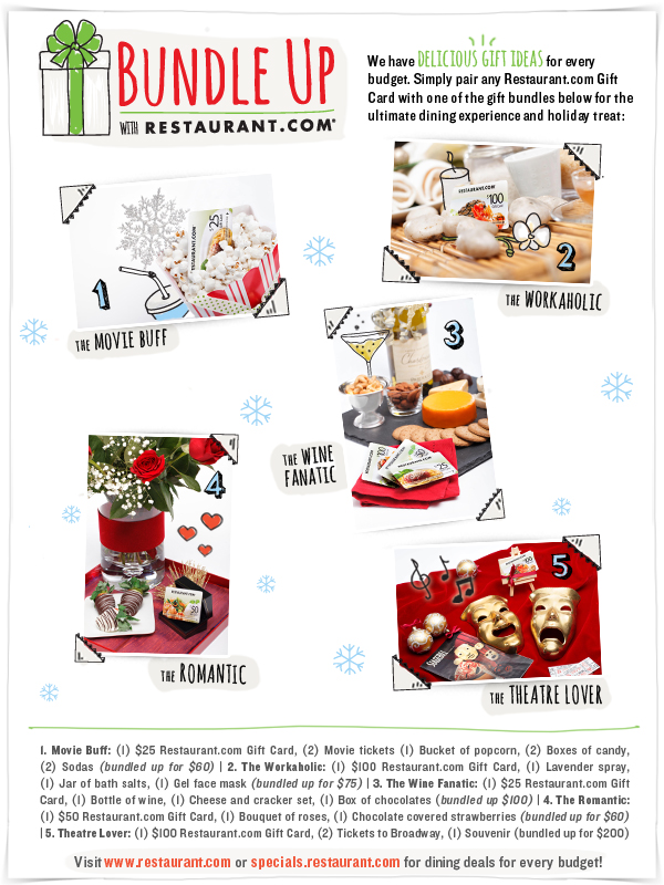 Presenting The Restaurant.com Holiday Gift Guide