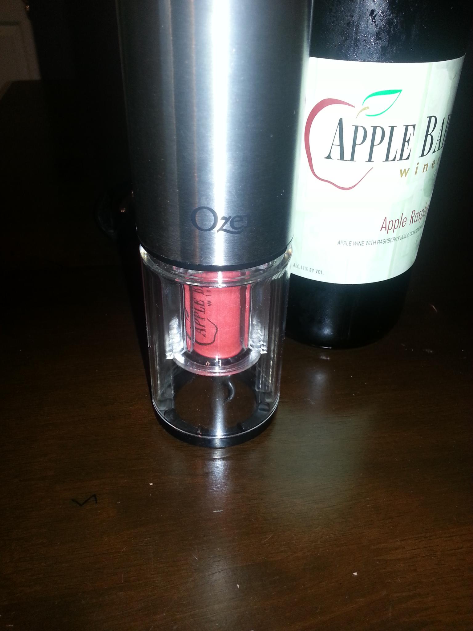 Ozeri Extravo Electric Wine Opener Review