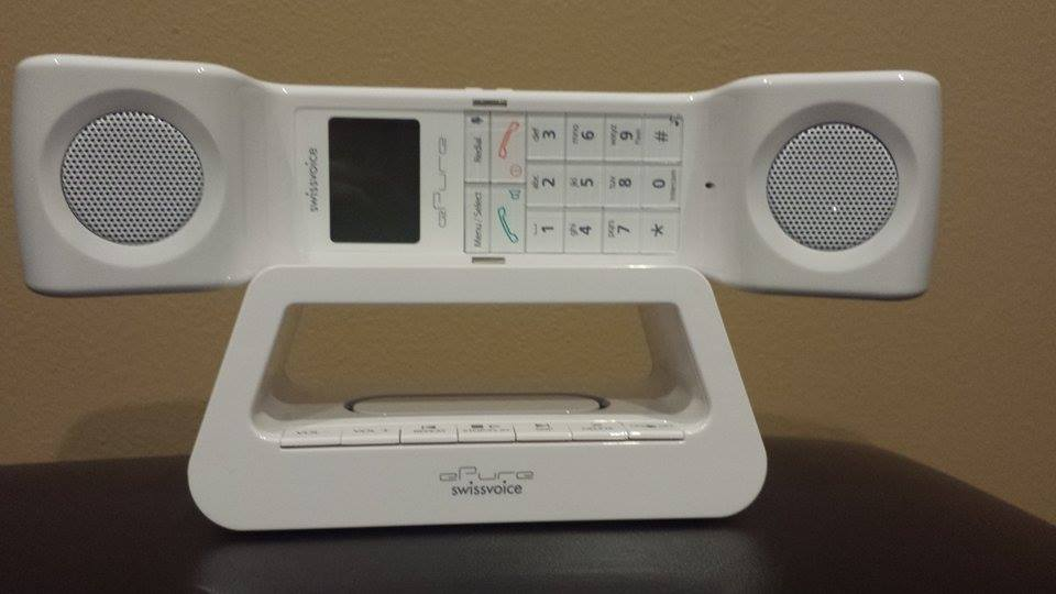 swissvoice ePure White with Answering Machine Review
