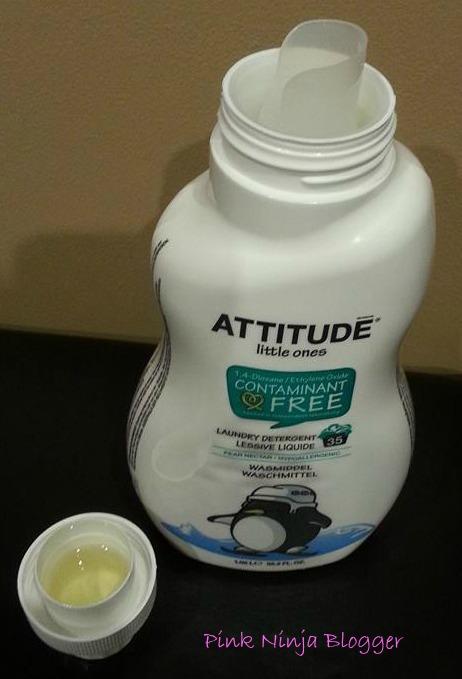 ATTITUDE Pear Nectar Detergent