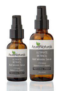 Azure Naturals ULTIMATE RETINOL Anti Wrinkle Serum Double
