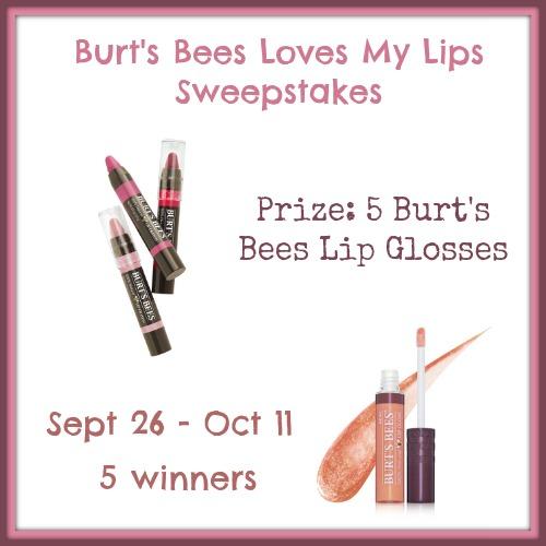 Burt's Bees Loves My Lips