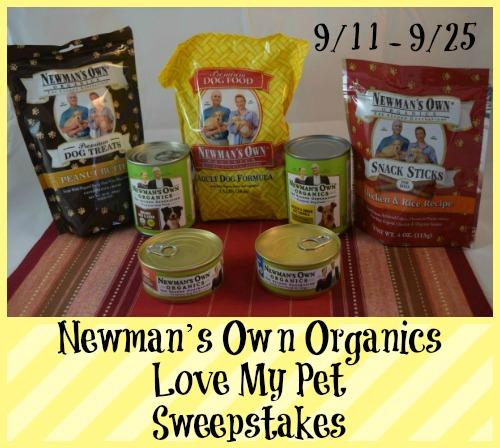 Newman's Own Organics Pet Food