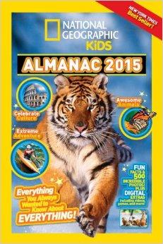National Geographic Kids Almanac 2015 #NGKInsider
