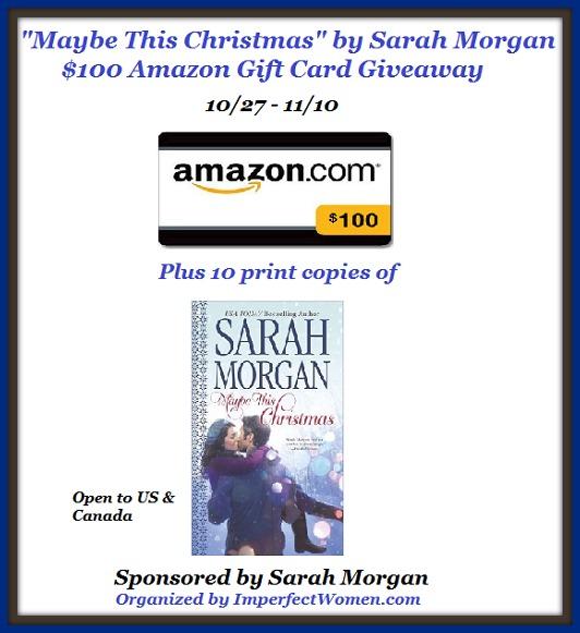 Sarah Morgan Giveaway1