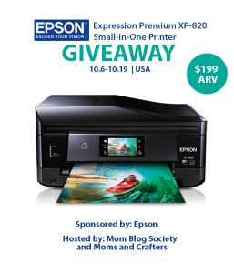epson giveaway button