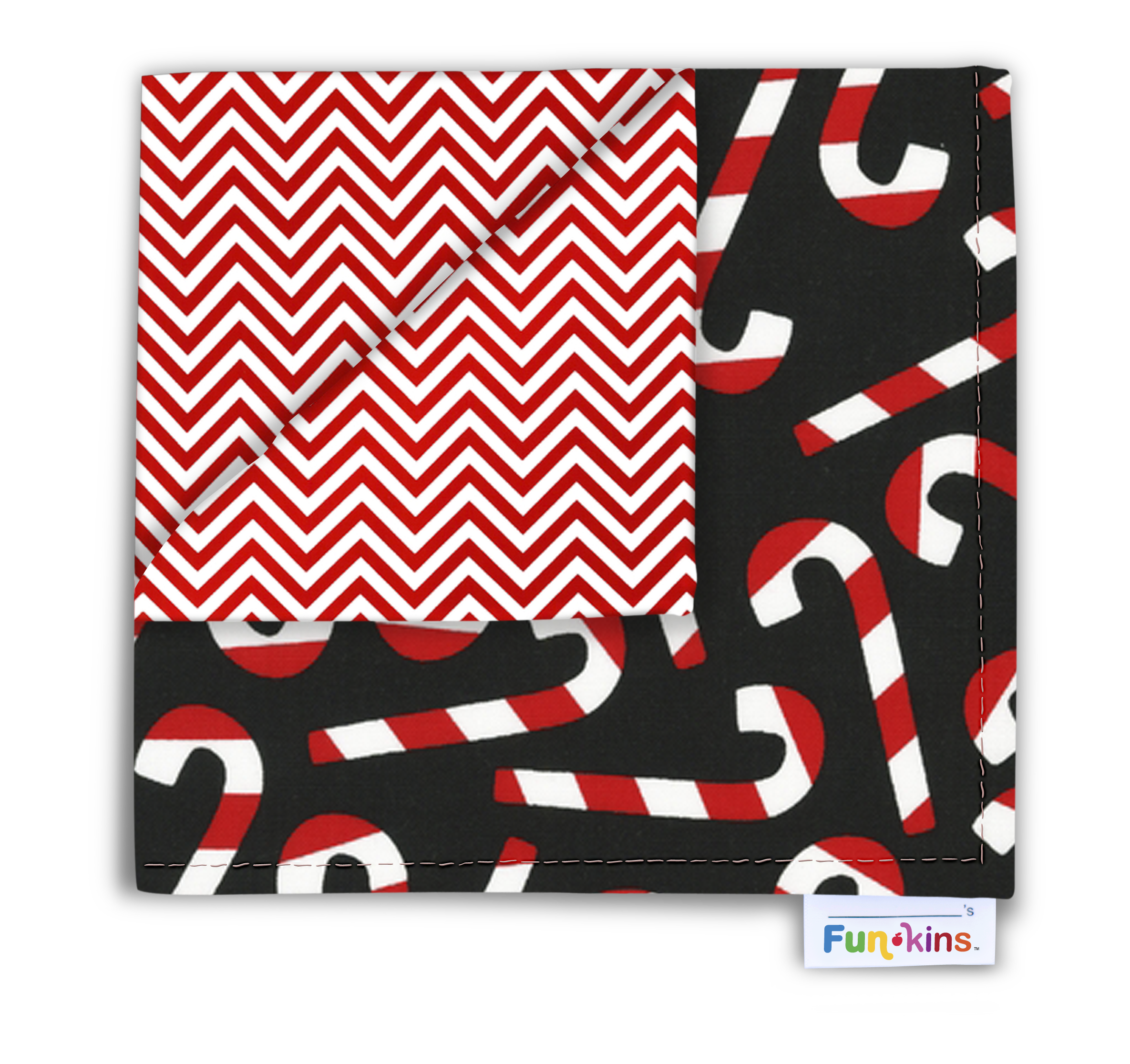 Funkins Cheerful Cloth Napkins for Kids Review #FunkinsHoliday