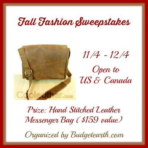 Fall Fashion Sweepstakes