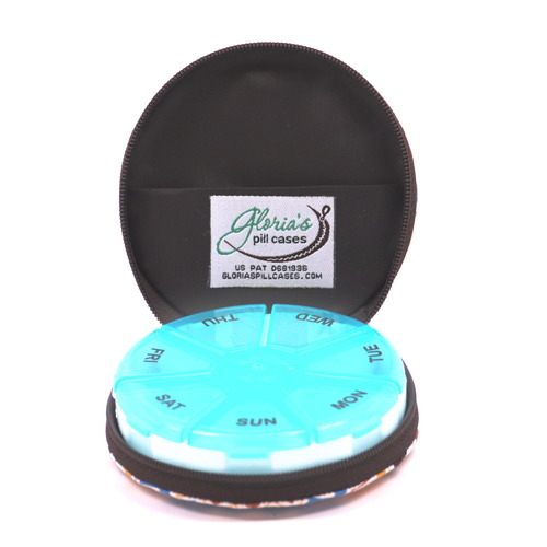 Zip-A-Round Zippered Travel Pill Case Review  #pillcasepromo