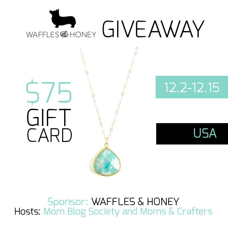 waffles & honey giveaway button