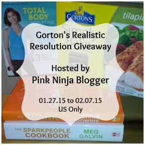 Enter the  Gorton's Realistic Resolution Giveaway. Ends 2/7.