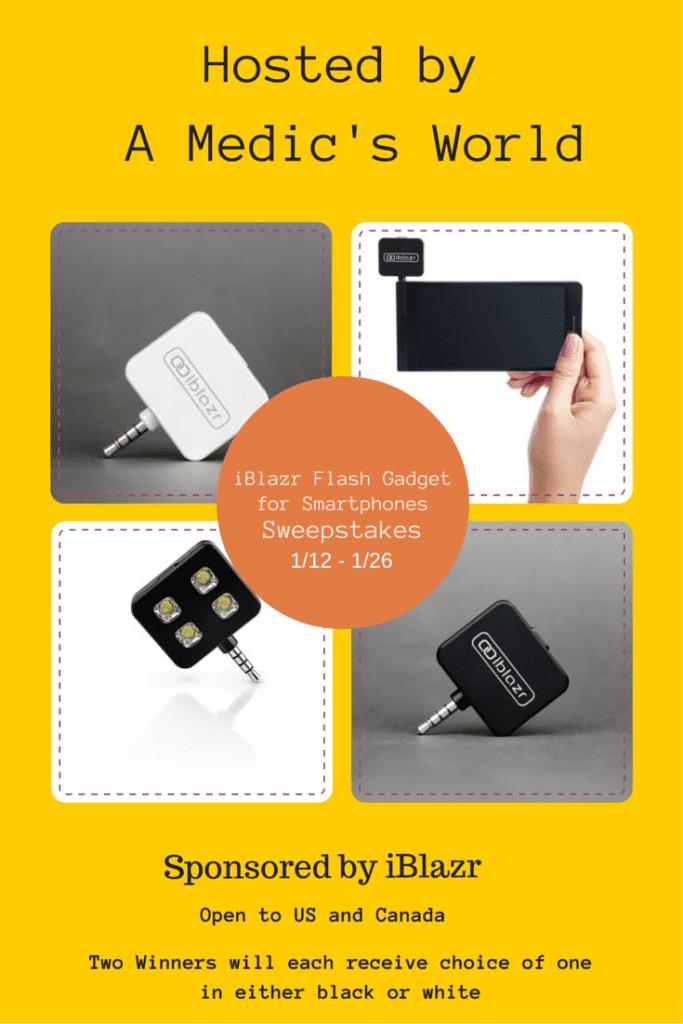 iBlazer Flash for Smartphones Sweepstakes