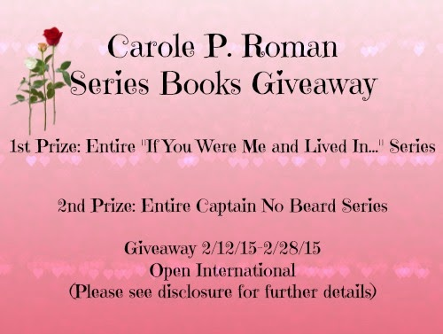 Feb Series giveaway
