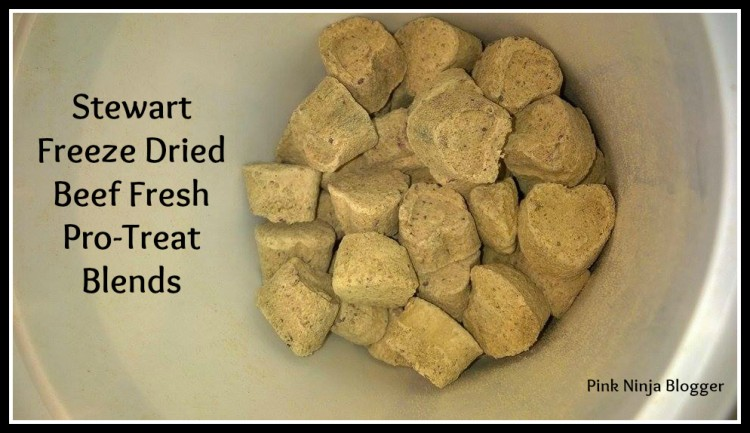 Stewart® Pro-Treat® Freeze Dried Blends Review #StewartPet