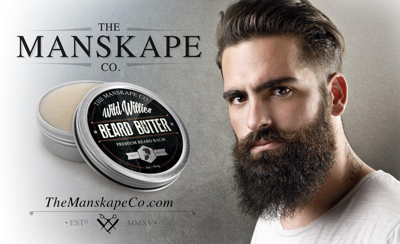 Wild Willie's Beard Butter ~ Beard Balm, Beard Oil