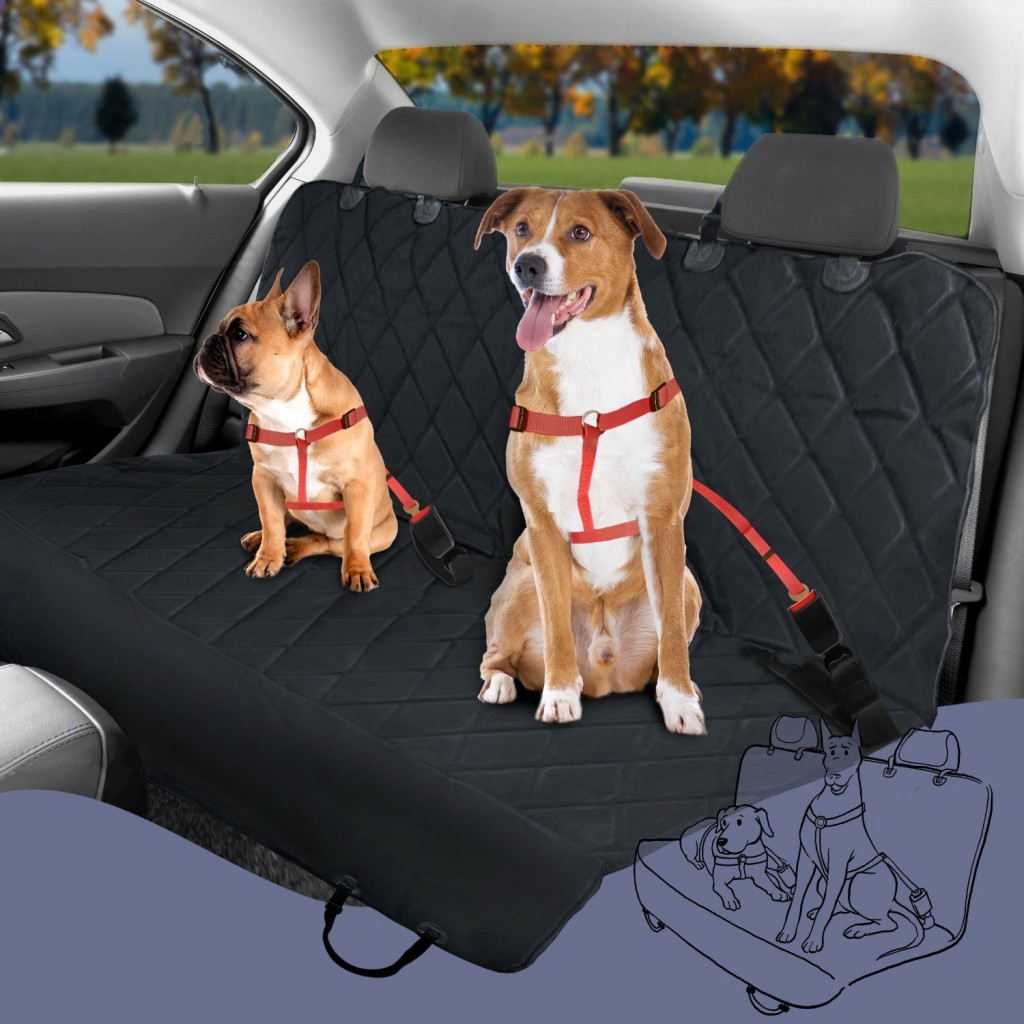 Plush Paws Pet Seat Cover Review Giveaway