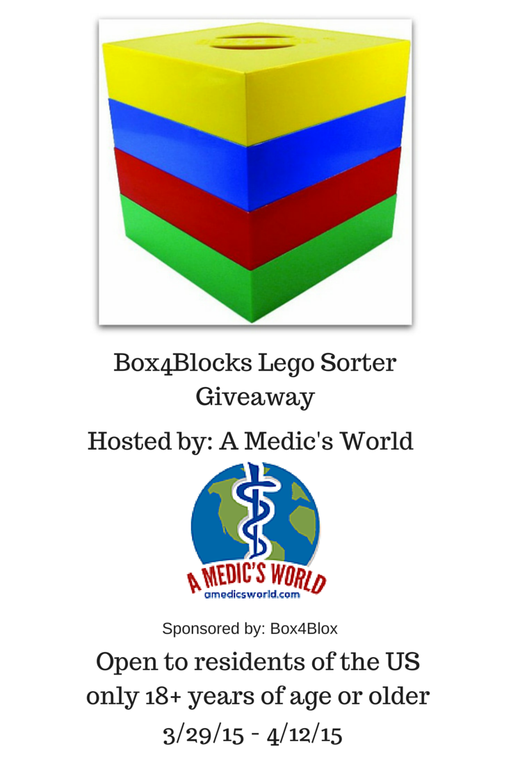 Box4Blocks Lego Sorter Giveaway