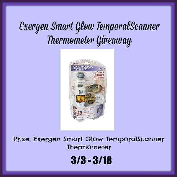 Exergen Smart Glow TemporalScanner Thermometer