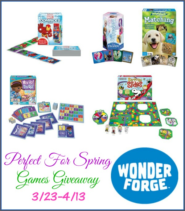Perfect For Spring Games Giveaway