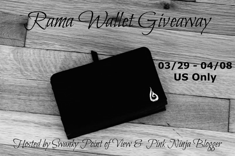 Enter the Rama Wallet Giveaway. Ends 4/8.