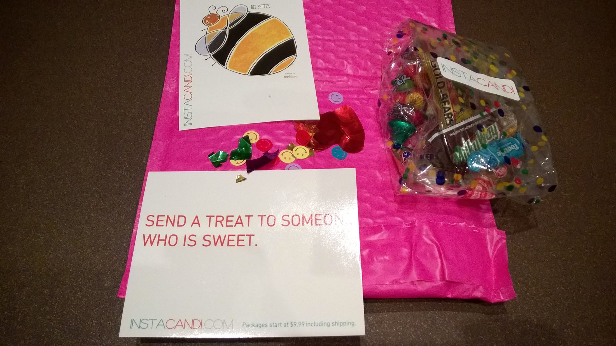 INSTACANDI ~ Send a treat to someone who is sweet