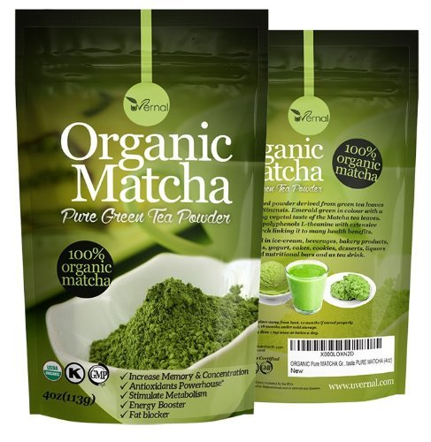Perfectly Pure and Powerful Organic Matcha Green Tea Powder