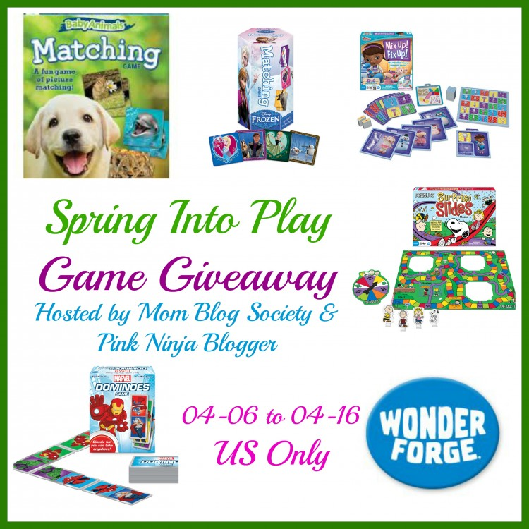 Spring Into Play ~ Wonder Forge Game Giveaway {US | Ends 04/16}
