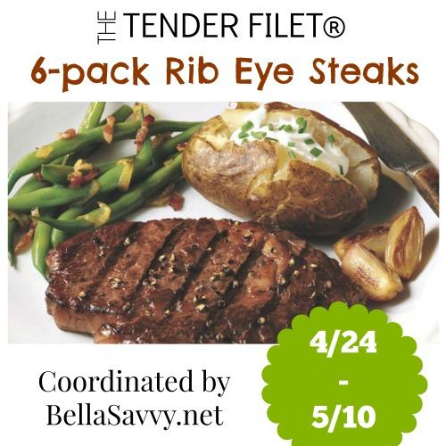 The Tender Filet Rib Eye Steaks Giveaway {US | Ends 05/10}