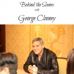 George Behind the Scenes