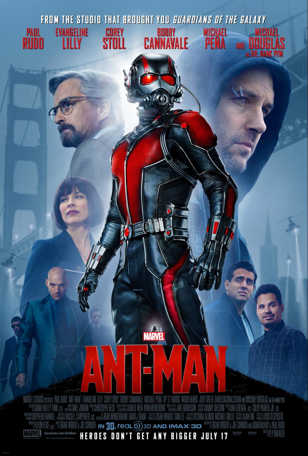 Marvel's ANT-MAN Hits Theaters in July ~ #AntMan