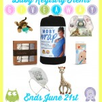 Best Budget Friendly Baby Registry Items Giveaway {US | Ends 06/21}