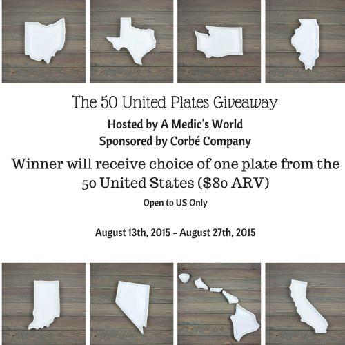 50 United Plates Giveaway 2