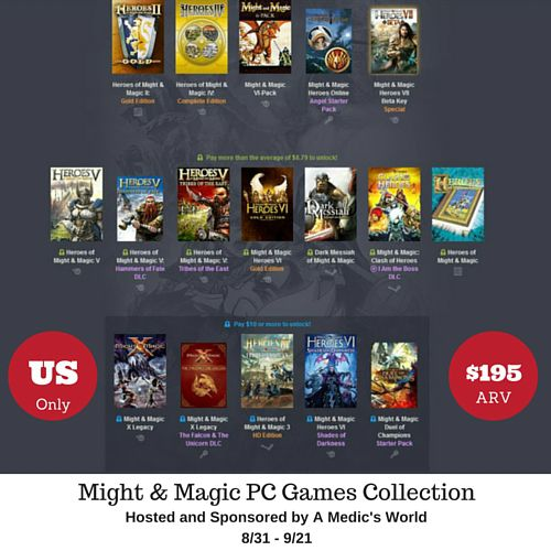 Might & Magic PC Games Collection