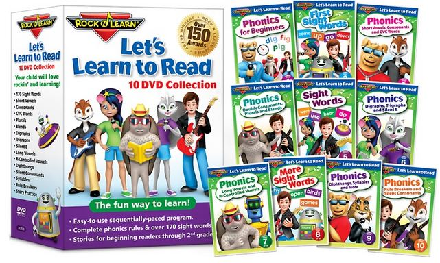 Rock N Learn Let's Learn to Read