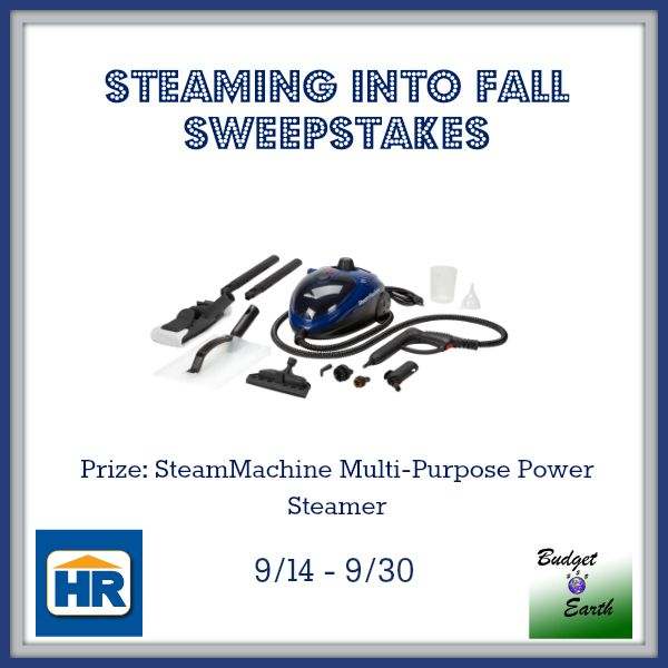 Steaming into Fall Sweepstakes