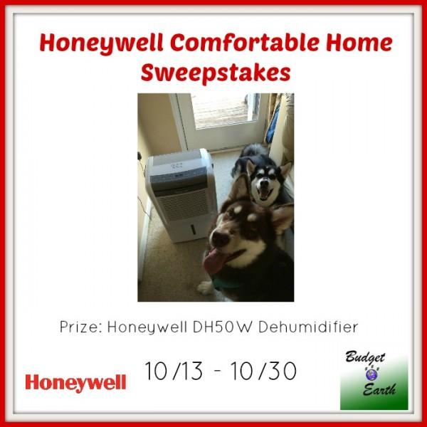 Honeywell Comfortable Home Sweepstakes