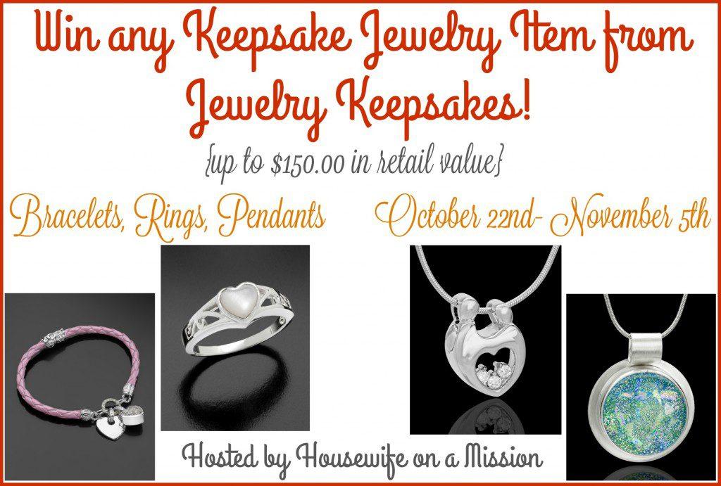 Jewelry Keepsakes Giveaway