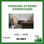 Massage at Home Sweepstakes {US | Ends 10/17}