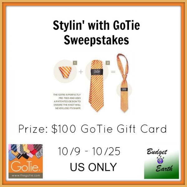 Stylin' With GoTie Sweepstakes