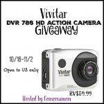 Vivitar DVR 786 HD Action Camera Giveaway {US | Ends 11/02}