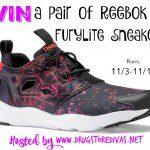 Reebok Furylite Sneakers Giveaway {US | Ends 11/16}