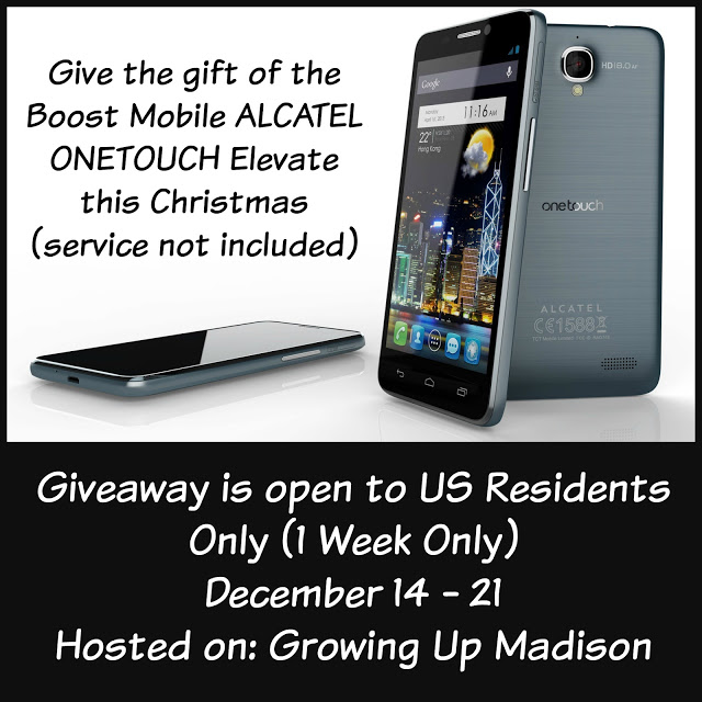 Boost Alcatel One Touch Elevate Giveaway