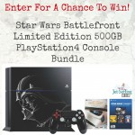 Enter for a chance to win a Star Wars Battlefront PlayStation4 Bundle!