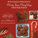 Twitter Party ~ #FannieMay4Holidays {12/08 at 9pm ET}