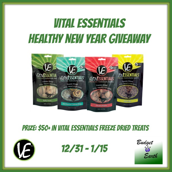 Vital Essentials  Healthy New YeaR Giveaway